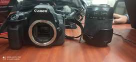 Canon 70d with Canon  18-55mm and Tamron 18- 200