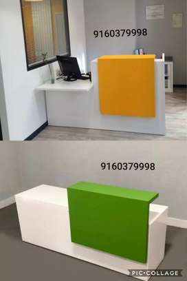 Reception table cash counter office table front office desk available