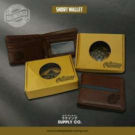 dompet kulit rollig speed short