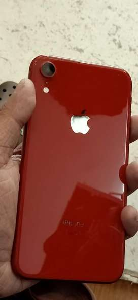 Iphone XR RED colour 64gb in. Only 4 months used