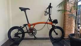 Sepeda Lipat 3sixty Orange Candy