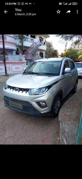 Mahindra KUV 100 silver 2018 Diesel 18000 Km Driven