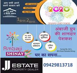 Booking of 1BHK/2BHK in Prime Location Nr. RAMADA HOTEL - J.J.ESTATE