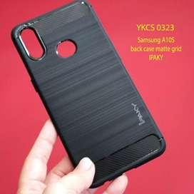 Softcase case hardcase Ipaky Carbon Fiber Samsung A10S