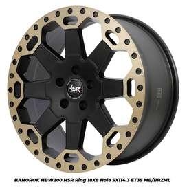 Velg Mobil Vellfire, Grand Vitara SX4 dll Ring 18 HSR BAHOROK H BW200