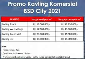 Promo disc 25% Tanah Kavling BSD