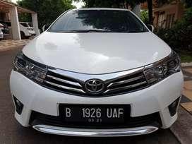 Toyota Altis V 1.8 Tahun 2016 Kondisi Tangan Pertama Mulus Istimewa