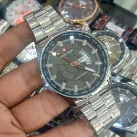 jam tangan SA bc earth silver black 40mm daydate on ada box lengkap