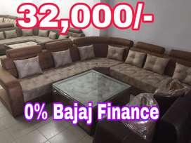 Bajaj 0% finance par bed sofa milta hai