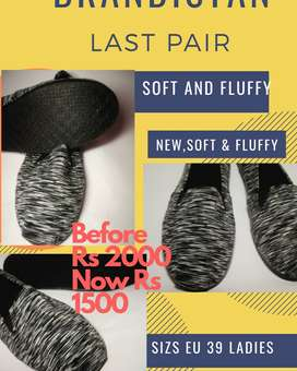 soft silky fluffy  shoes