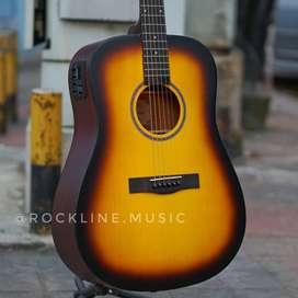 Gitar Akustik elektrik Sunbrush Best Quality