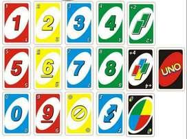 mainan kartu uno berwarna