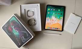 Ipad Pro 2018 256GB Cell Wifi + Apple Pencil 2 Murah