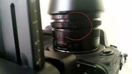 lensa Panasonic Leica 15mm F1.7 lumix Olympus lengkap box, pouch, dll