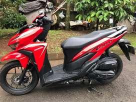 Honda Vario 125 Thn 2019 Merah Mulus Gan