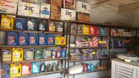 Spare parts and lubricants