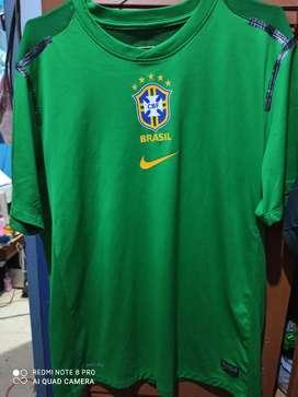 Jual jersey latihan timnas brazil original second