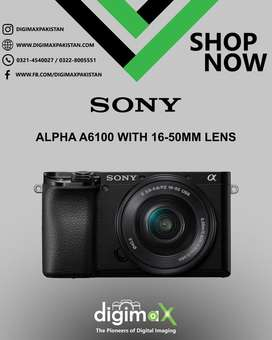 Sony A6100 16-50 kit Mirrorless 4k Video Camera & still
