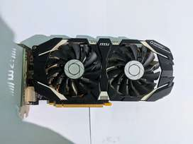 MSI GTX 1060 3GB OC Edition Graphic Card for Gaming Mint condition