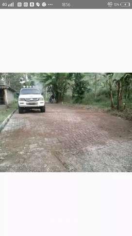 Kavling Luas pinggir jalan raya Mijen Kaligetas Semarang