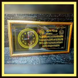 BTL1 Jam Kaligrafi Kaca 35x65cm