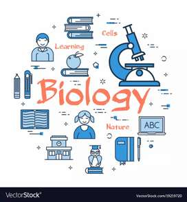 Biology teacher available for class 9 and 10 all board