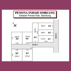 Cicilan 12X: Kavling Matang Dapat SHM: Area Pemkab Bandung