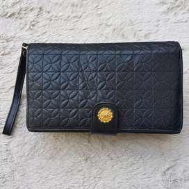 Tas import eks VALENTINO RUDY italy clutch/tas tas tangan kulit asli