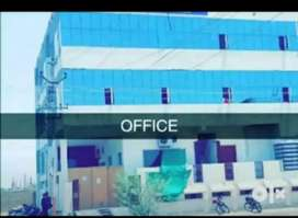 Office work and sitting job