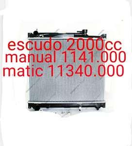 Radiator mesin suzuki escudo 2000cc