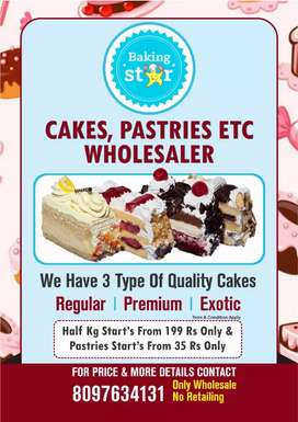 Wholesale cakes n pastry