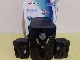 SPEAKER ADVANCE M10 BT-SPIKER AKTIF BLUETOOTH MMC FD AUX RADIO - OKE