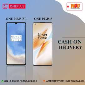 ONE PLUS mobiles are available on COD at N4U mobiles ameerpet