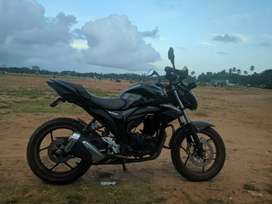 Suzuki Gixxer 2017 model all papers clear