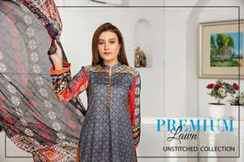Summer'21 Unstitched Lawn Collection