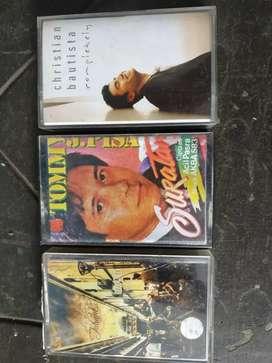 3 cassette Ungu, ChristianBautista, TommyJ. Pisa.