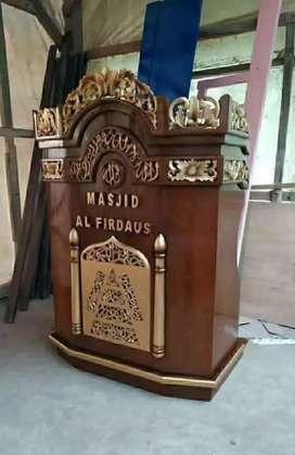 mimbar masjid biasa 01