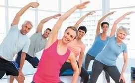 Free aerobics exercise class