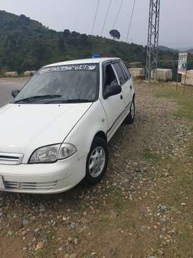 Make Suzuki Model Cultus VXR Year 2005 KMs driven 25000 km Fuel Petr