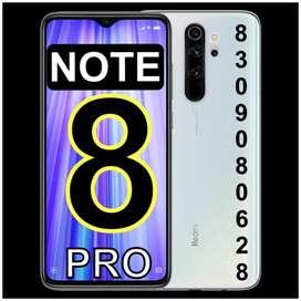 REDMi》NOTE (8 PRO)=(6GB+64GB/8GB+128GB)》NOTE (8)=(6GB+128GB)EXTRA COST