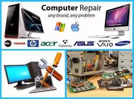 Computer repair ( home service )