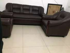 Sofa set leather