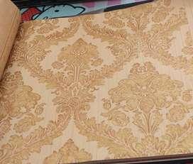 Wallpaper korea,motif timbul dan mewah