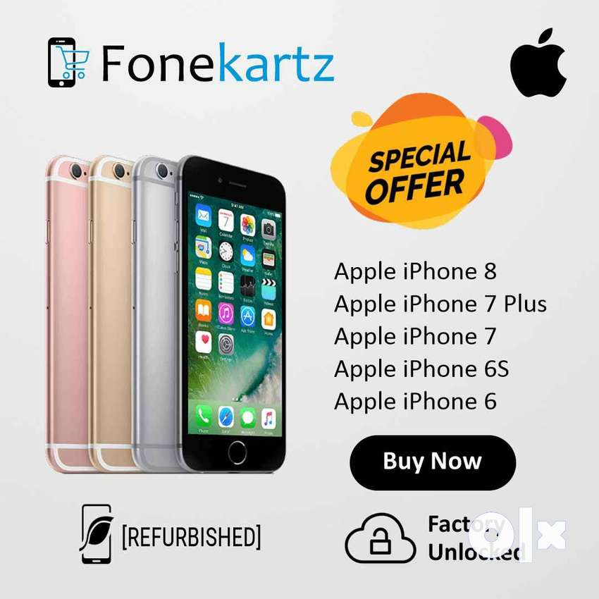 Apple iPhone Refurbished 8, 7 Plus, 7, 6s & 6 Discount Offer 0
