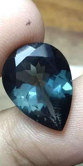 Natural blue topaz london 8.65ct