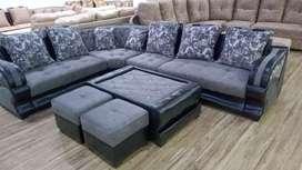 Altroz L shape sectional sofa
