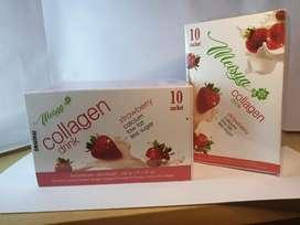 Meisya collagen Drink pemutih Badan Asli Original