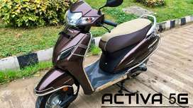 Brand New Honda Activa 5G STD at low down payment @2999
