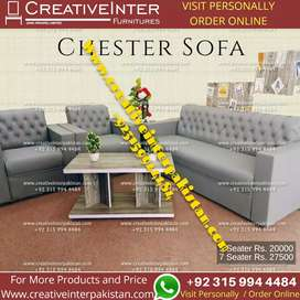 Sofa  five seater office table chair bed set workstation study center