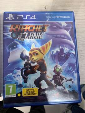 PS4 games (3 diffrent games CD)